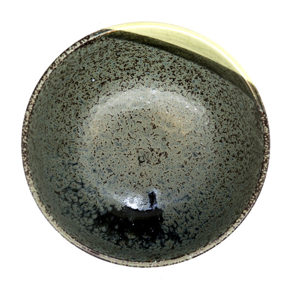 13220 ceramic medium rice bowl   mottled green 2