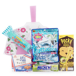 13293 summer yukata snack set  pink   white