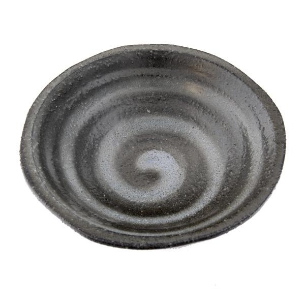 13264 ceramic small serving plate   black
