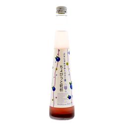 13355 hananomai sparkling blueberry sake