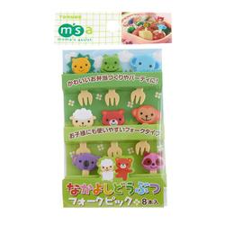 13317 cute animal bento picks