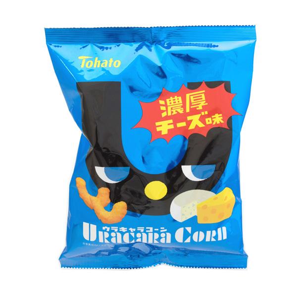 13386 tohato uracara corn cheese snacks