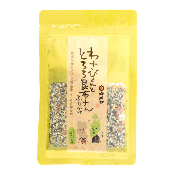 13383 kameya wasabi and shaved kombu kelp rice seasoning
