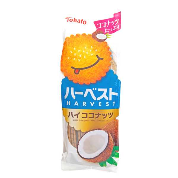 13396 tohato harvest coconut biscuits