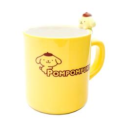13603 pompompurin mug with figurine