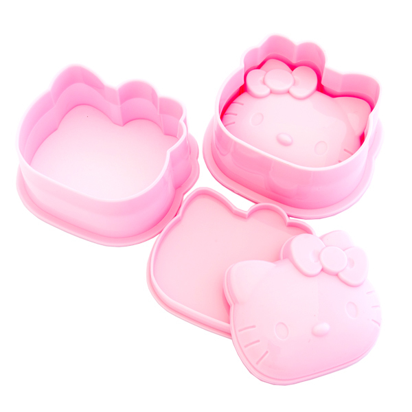 13616 sanrio hk rice mould set open