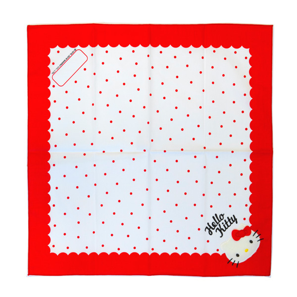 13620 sanrio hello kitty handkerchief