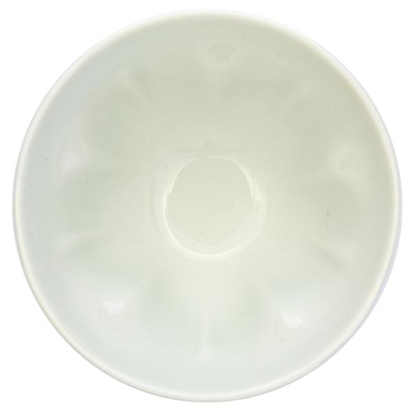 13648 ceramic teacup   white  cherry blossom shape 2