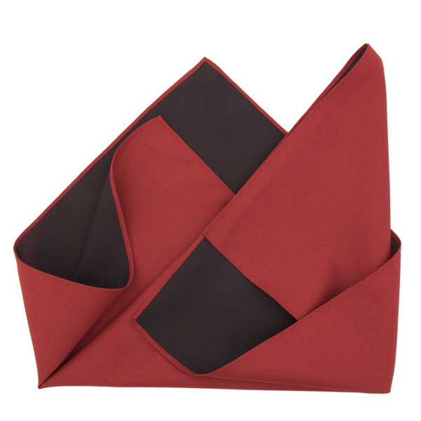 13666 furoshiki cloth   red and brown