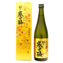 13753 niigata meijo kanchubai junmai ginjo sake