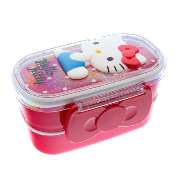 japan centre sanrio hello kitty bento lunch box raised. Black Bedroom Furniture Sets. Home Design Ideas