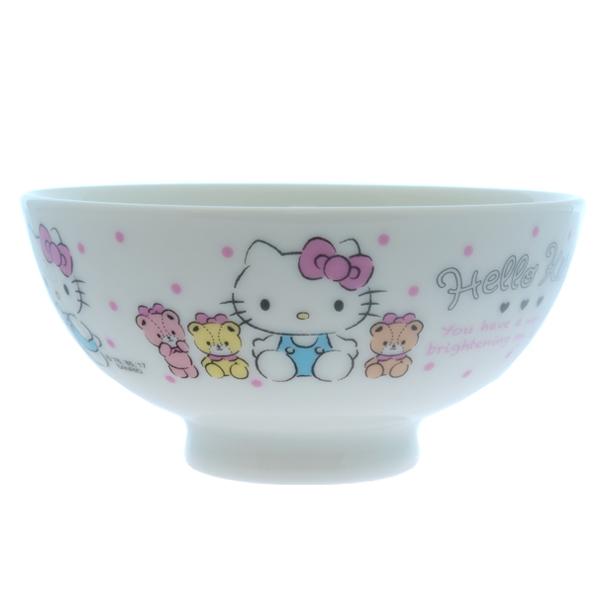 13793 sanrio hello kitty ceramic rice bowl