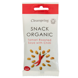 13851 clearspring snack organic soya with chilli