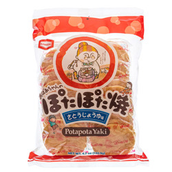 13907 kamedaseika sugar soy sauce rice crackers