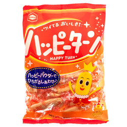 13908 kamedaseika happy turn soft rice crackers