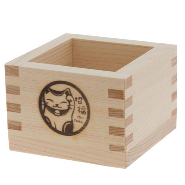 13937 hinoki cedar wooden masu cup