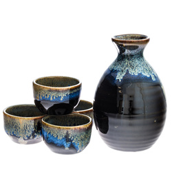 13960 ceramic sake set black blue gold drip pattern  sc 1 st  Japan Centre & Japan Centre - Buy Japanese Authentic Tableware Online
