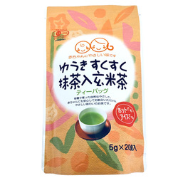 13997 osada seicha suku suku genmaicha brown rice tea with matcha
