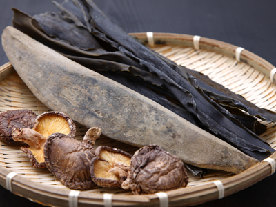 Dashi kelp mushrooms