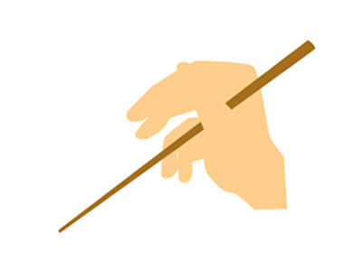 how to hold chopsticks japanese way