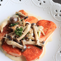 1045 foil fish mushroom