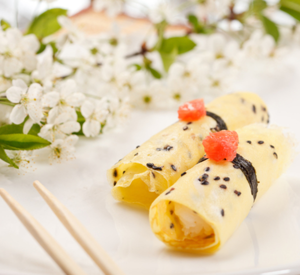 Special Occasion Japanese Omelette Crepes