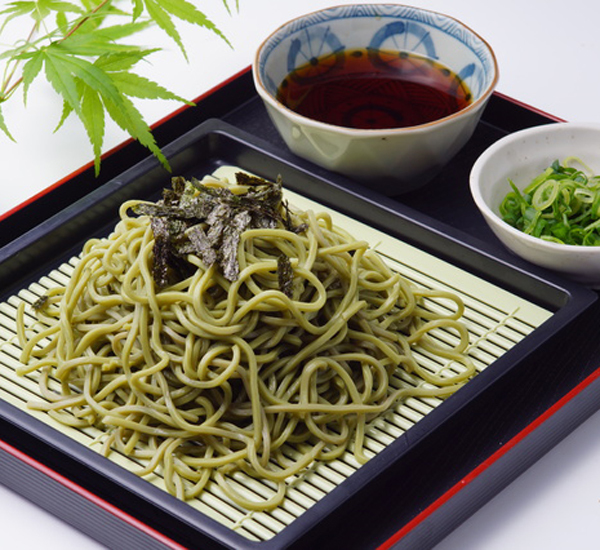 Cold Green Tea Soba Noodles Recipe - Japan Centre