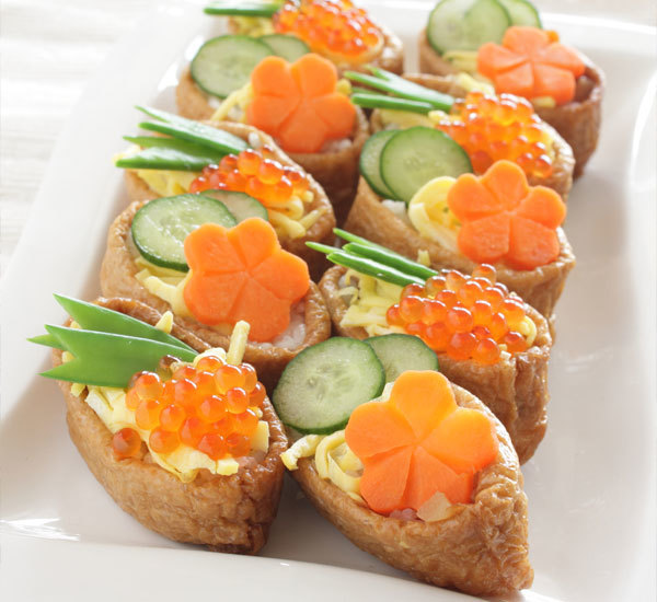 Inari Sushi Canapés Recipe Japan Centre - Canapes