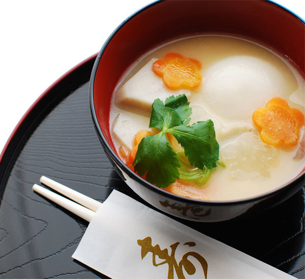 Kansai Style New Year's Ozoni Soup