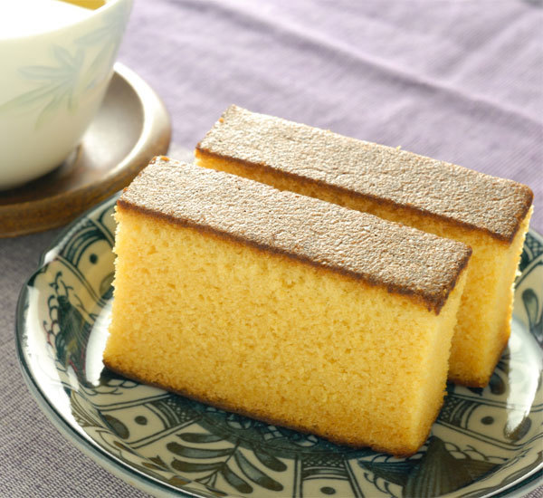 Gâteau castella traditionnel