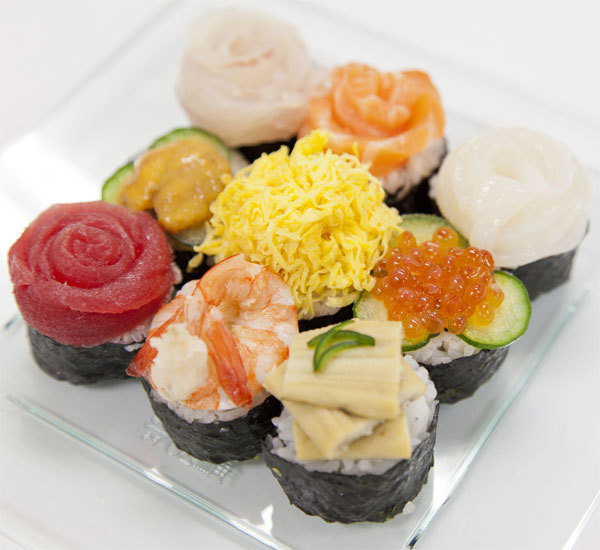 Sushi canap s recipe japan centre for How to make canape