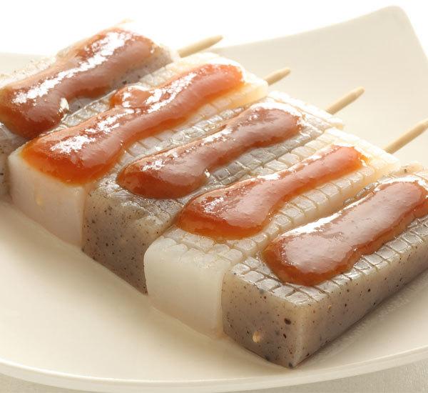 Konnyaku Dengaku Skewers with Miso Sauce Recipe - Japan Centre