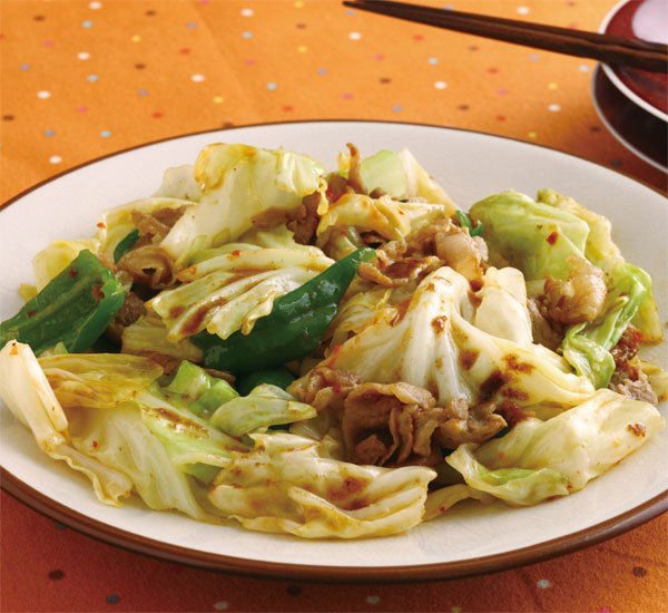 Miso hoikoro japanese pork and cabbage stir fry recipe japan centre miso hoikoro japanese pork and cabbage stir fry forumfinder Image collections