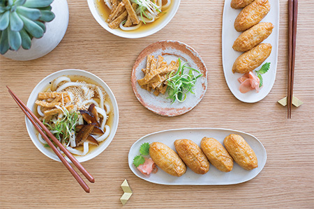 6 inari sushi rice meal 450 300