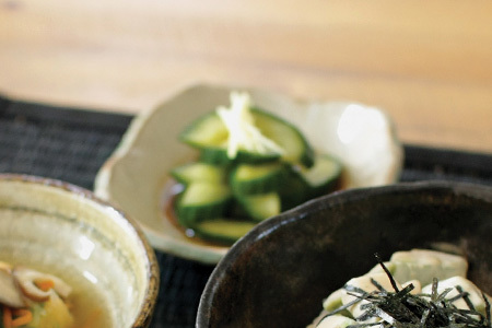 Marinated cucumber with sesame oil recipe japan centre our recipes forumfinder Image collections