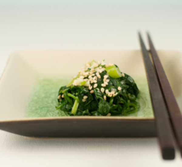 Goma-ae Sesame And Spinach Salad