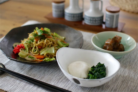 Japan centre japan centre fresh schedule vegetable yakisoba with japanese style poached eggs and stir fried konnyaku yam cake about this recipe forumfinder Choice Image
