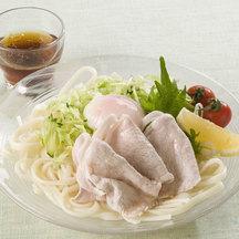 Hiyashi shabu udon