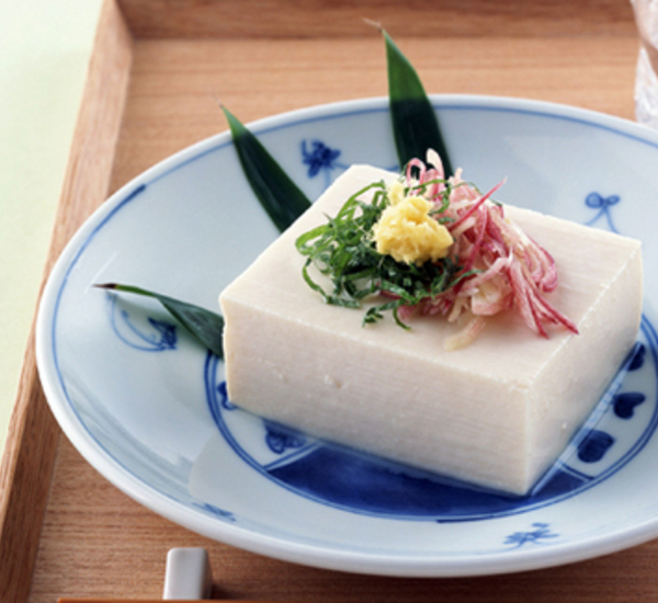 日式凉拌豆腐(冷奴)