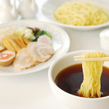 Photo tsukemen dipping noodles