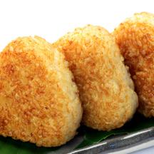Photo yaki onigiri grilled rice balls