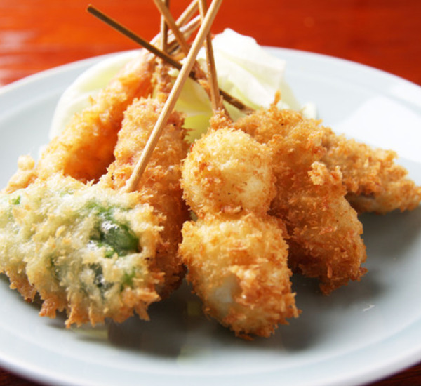 Kushiage Deep Fried Skewers