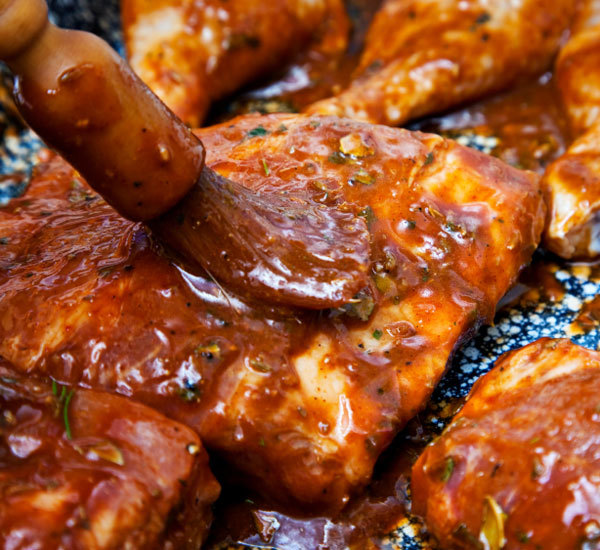 When it comes to barbecued chicken, everyone wants that nice thick glaze of sauce attached to the skin--but it only takes a minute for a barbecue sauce to go from brick-red to solid black. Get Chef John's tips for perfect BBQ unicornioretrasado.tk: 5.