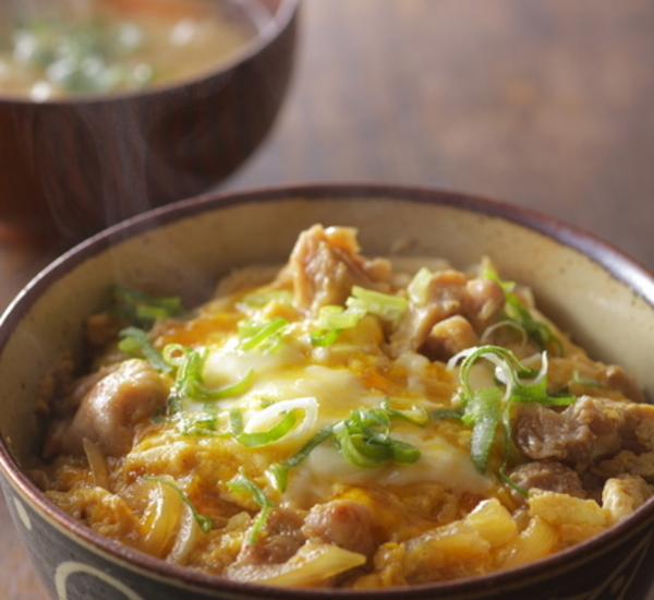 Japanese recipes chicken donburi