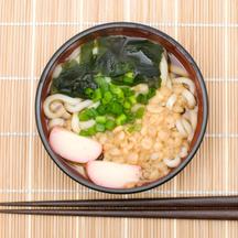 Photo tanuki udon