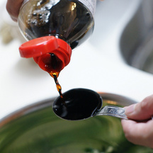 541 cooking with soy sauce
