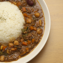 Photo natto curry
