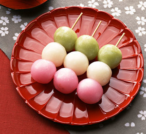 693 three colour dango
