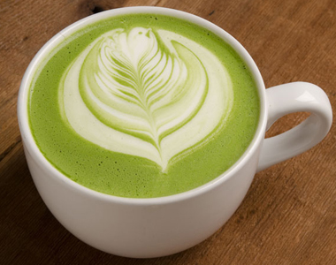 Matcha latte 380x300